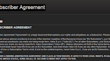 Valve's updated Steam Subscriber Agreement bars class action lawsuits