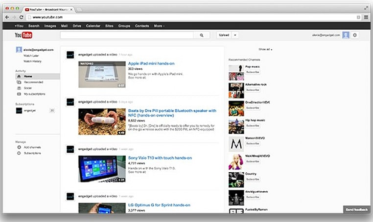 Snag YouTube's redesign early with a quick browser cookie change
