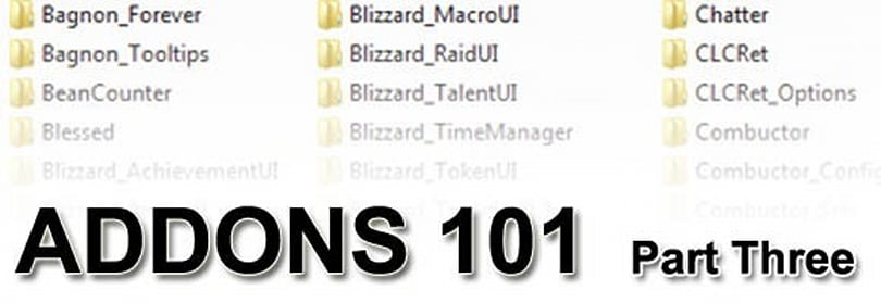 Addons 101: The other essentials