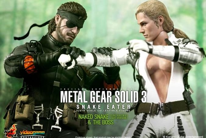 New MGS3 Snake and Boss toys prepare for climactic battle