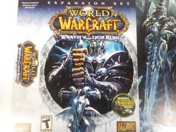 WoW's Wrath of the Lich King box art leaked