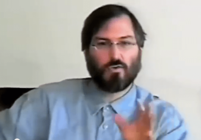 Take an hour to watch the documentary Steve Jobs - One Last Thing