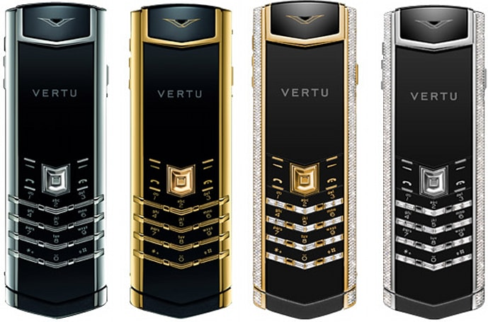 Vertu Signature Precious is awash in sea of sapphire...and regret (video)