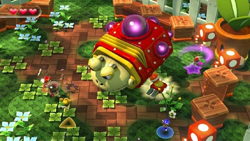 Nintendo Land features Yoshi, F-Zero, and 'Octopus Dance' games