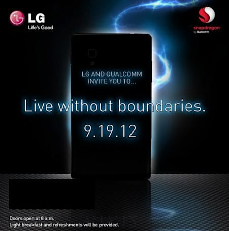 LG, Qualcomm ask us to save the date for yet another September smartphone reveal