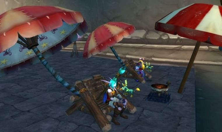 12 Days of Winter Veil Giveaway: Fishing Chair loot code