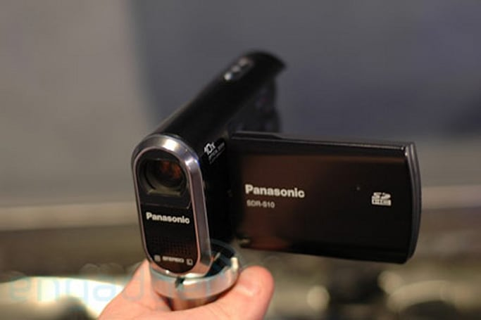 Hands-on with Panasonic's SDR-S10 camcorder