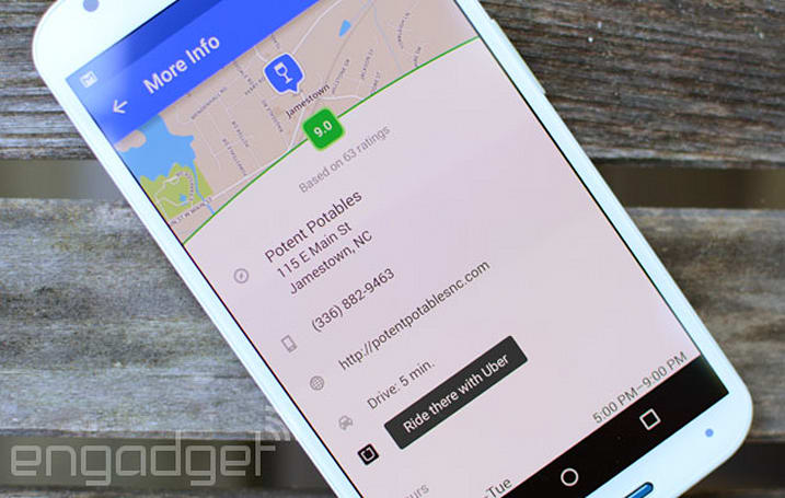 Use Foursquare to hail your next Uber ride