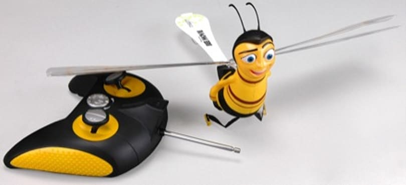 WowWee's radio-controlled Barry B. Benson flying Bee