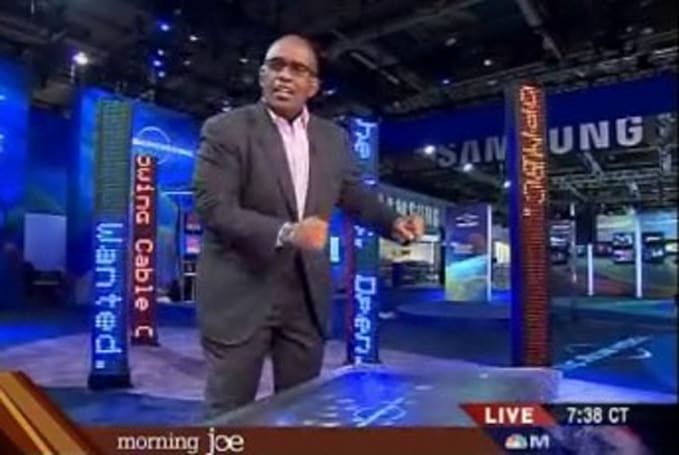 Video: Gettin' jiggy with Surface, Al Roker