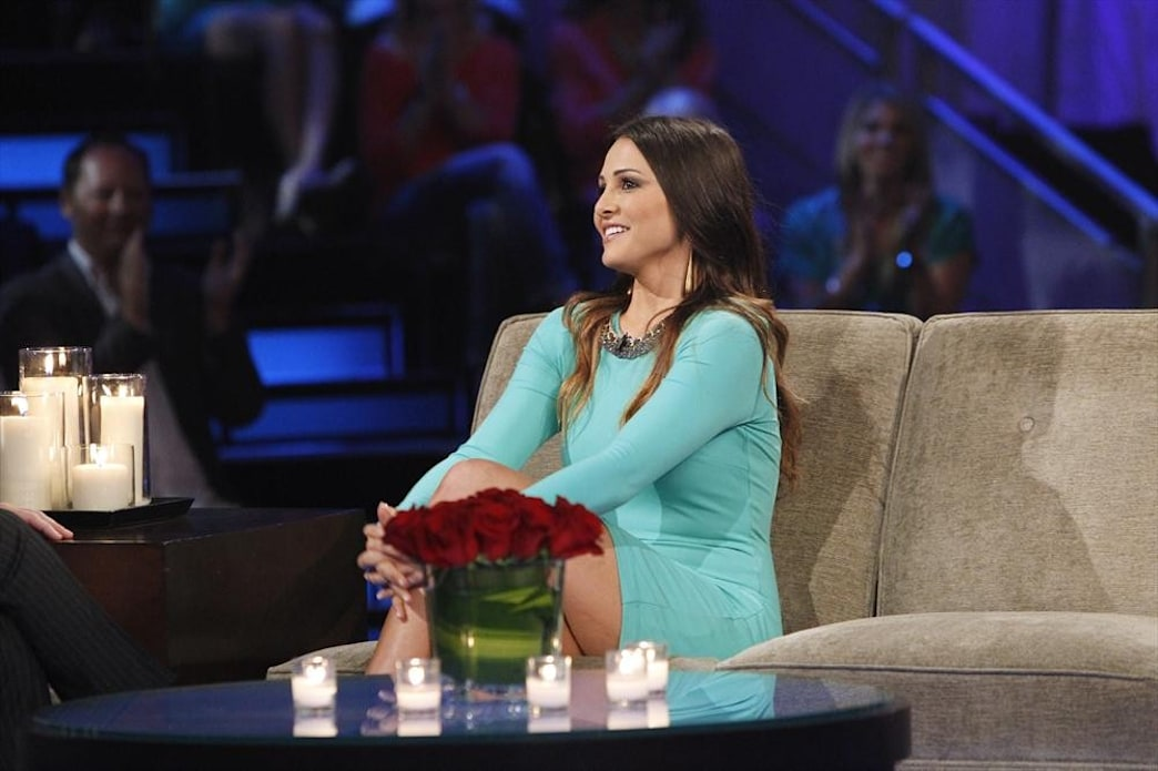 'The Bachelor: The Women Tell All' fashion recap: Andi's teal dress
