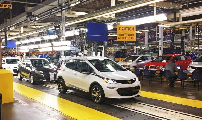 Chevy beats Tesla to a sub $30,000 long-range EV