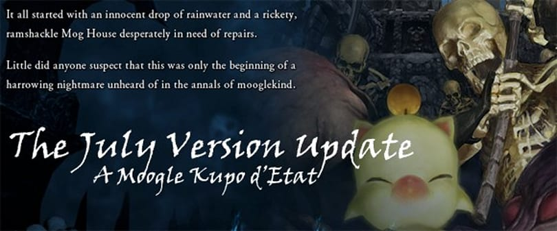 Final Fantasy XI's July version update lands on the servers