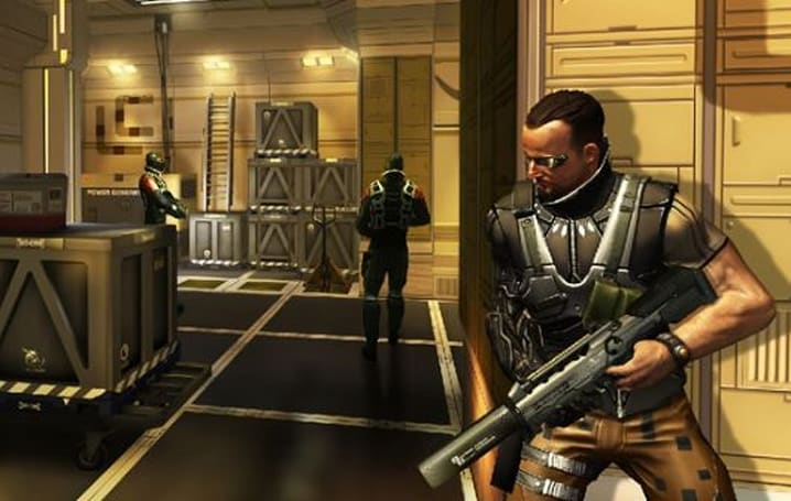 Deus Ex: The Fall is a cyber Renaissance faire for touchscreens