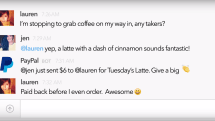 PayPal's Slack bot makes recouping the office bar tab easy