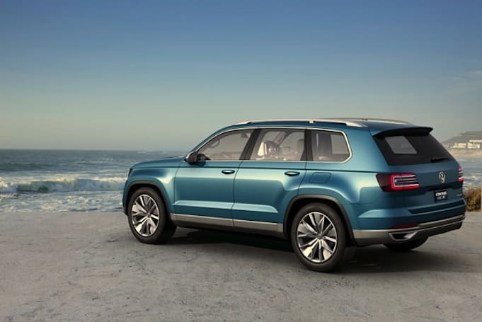 VW unveils CrossBlue plug-in SUV with iPad mini headrests and 85MPGe efficiency (eyes-on)