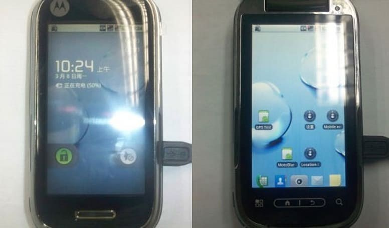 Pair of mysterious Motorola Android handsets espied in the wild
