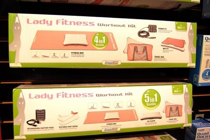 Seen @ CES 2009: The Lady Fitness Workout Kit