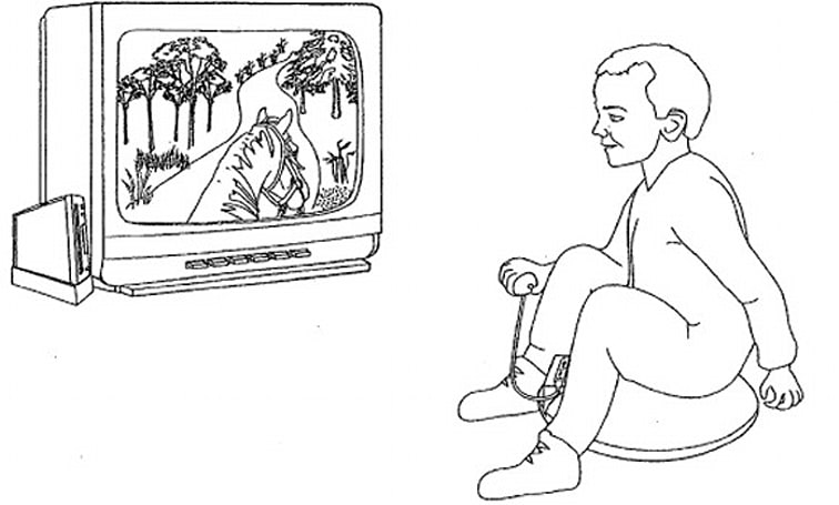 Nintendo patents inflatable cushion -- you know, for horseback riding