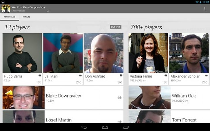 Google Play launches game services for mobile, social, cloud gaming