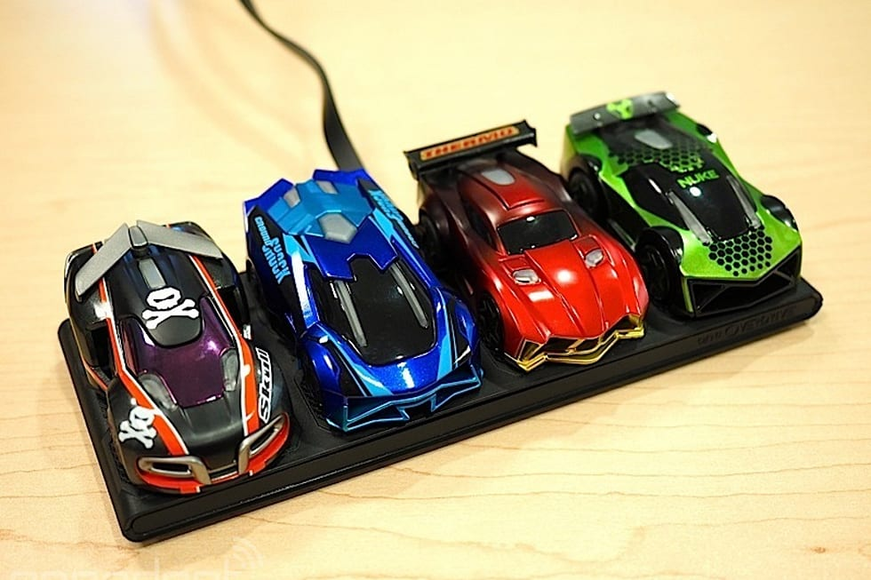 anki overdrive blends robotic racing with video game hooks. Black Bedroom Furniture Sets. Home Design Ideas