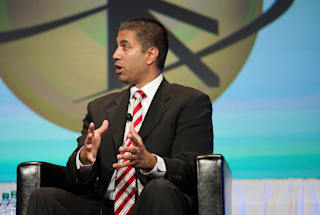 FCC chairman says his agency won't review AT&T's Time Warner purchase
