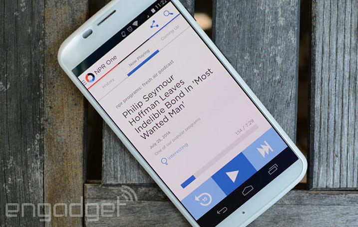 NPR One delivers personalized public radio on the go