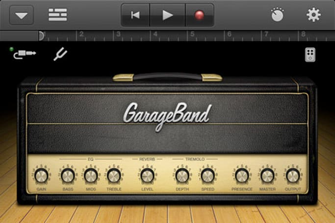 Apple brings GarageBand to iPod touch and iPhone users, because rocking out shouldn't require a tablet