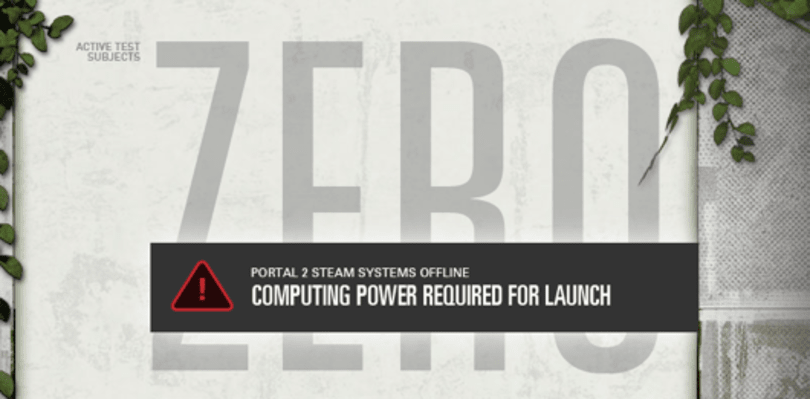 Portal 2 launching slightly earlier on PC as a result of 'GLaDOS@Home'