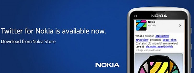 Twitter comes to Nokia Series 40 feature phones, lets you hashtag with the best of them