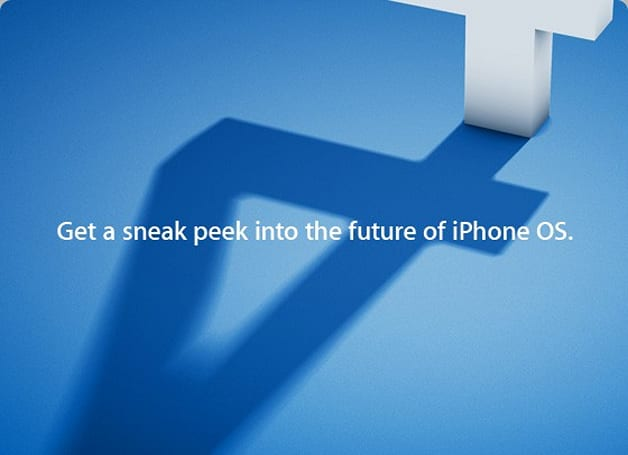 Apple holding iPhone OS 4 event, April 8th!