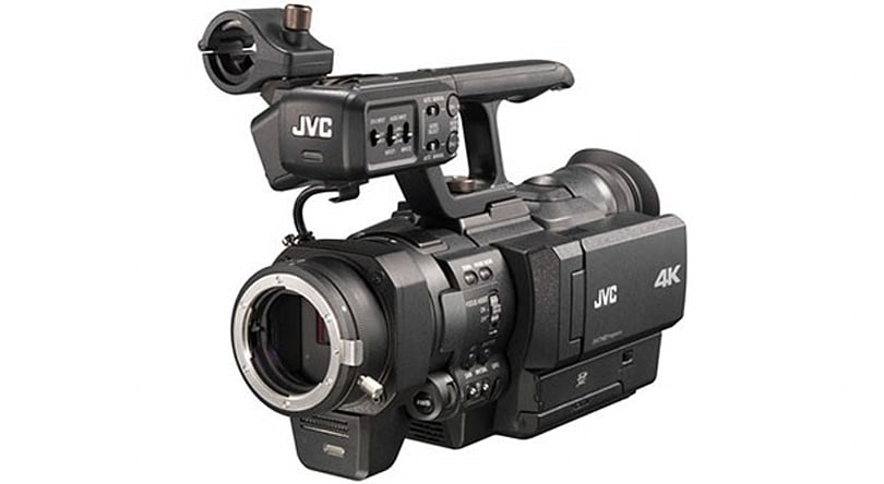 JVC unveils $18,000 4K interchangeable lens camcorder with Nikon F-mount