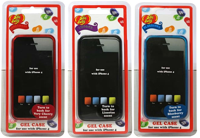 Jelly Belly cases make your iPhone smell edible, come in BlackBerry flavor