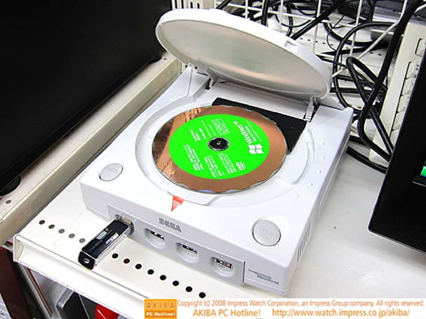 Dreamcast PC features Blu-ray, nostalgia for the late 1990s