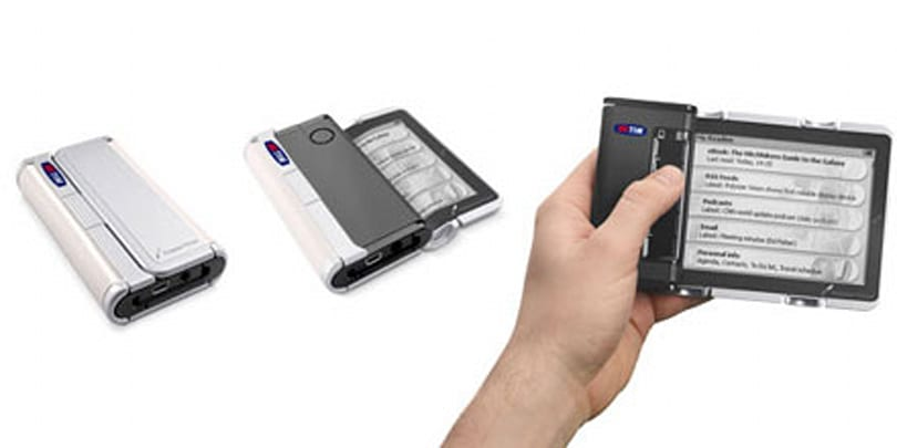 """Polymer Vision unveils """"Cellular-Book"""" with rollable display"""