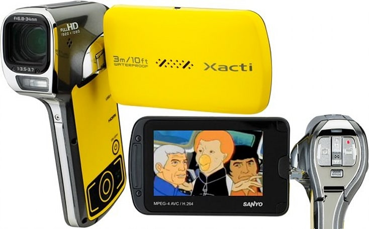 Sanyo's VPC-CA102YL waterproof HD camcorder, your perfect accessory for visiting Sealab 2021
