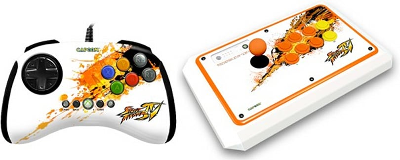 Special edition Mad Catz Street Fighter IV controllers set for limited engagement at Comic-Con