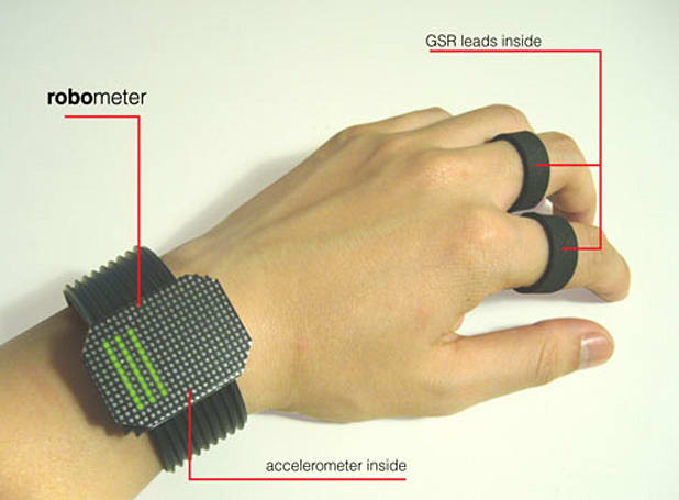 Robometer concept device promises to help you feel happy