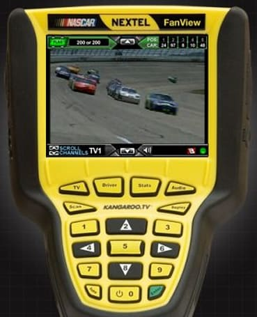 Call a Nascar Nextel FanView your very own