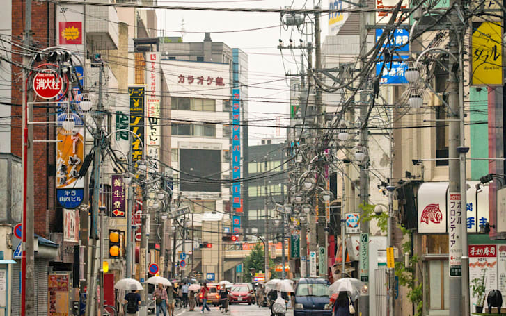 Audiophiles in Japan are installing their own electricity poles