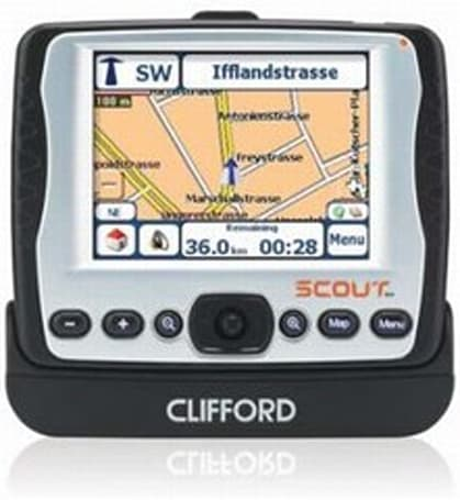 Clifford's Scout 355B personal navigator