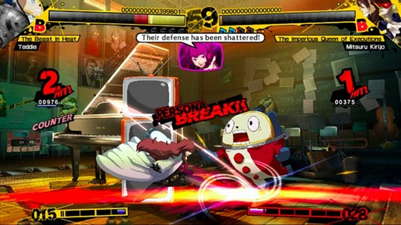 Can RPG fans enjoy Persona 4 Arena too?