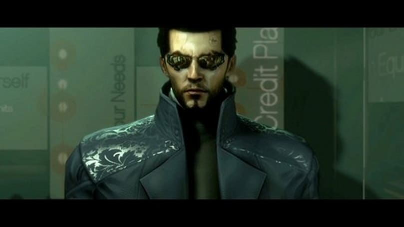 Adam Jensen really wants his mirror replaced