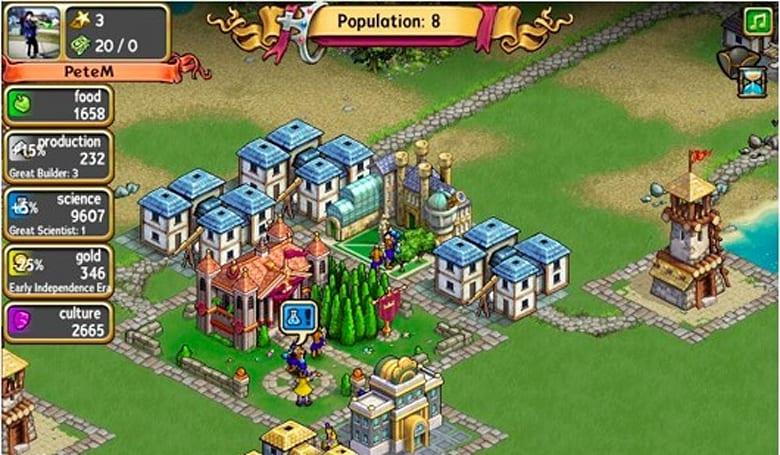 Civilization World launches on Facebook, global productivity threatened