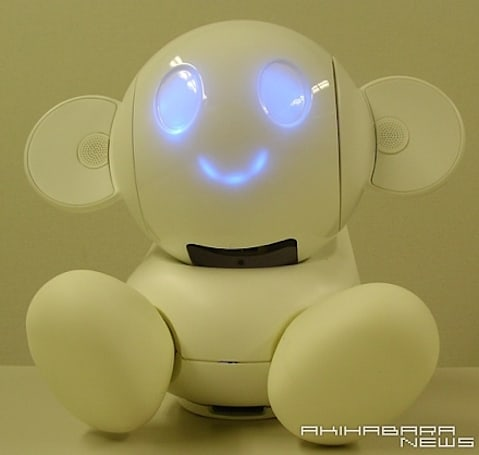 Chapit the domestic bot does less, looks cuter