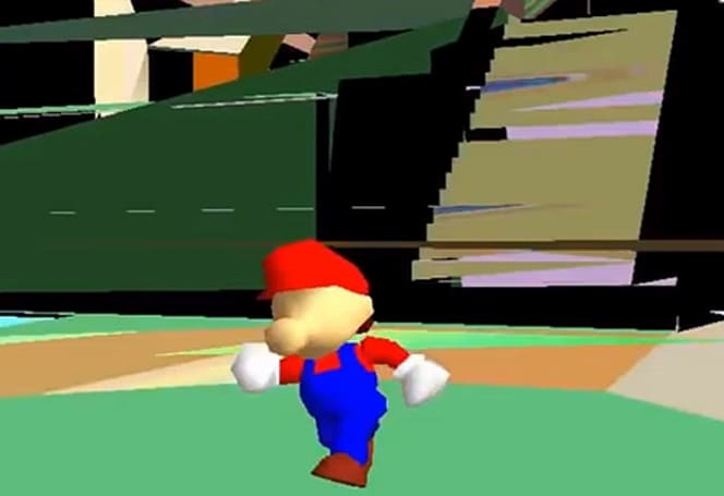 Corrupted Super Mario 64 shows the real mushroom kingdom
