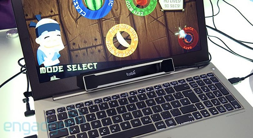 Hands-free Fruit Ninja: NUIA makes it easier to code PC apps with eye control (hands-on)