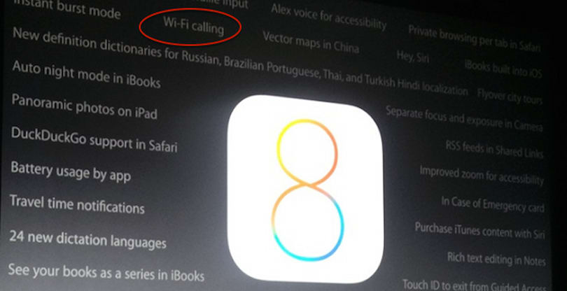 Why Wi-Fi Calling could be the biggest new feature in iOS 8