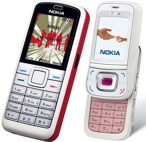 Nokia's 5070 and 7088 for dudes and debutantes, respectively