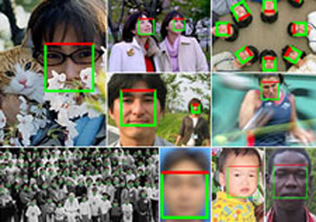 iPhoto '09 uses face detection package from Omron